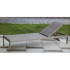 Relax lounger made of polyrattan