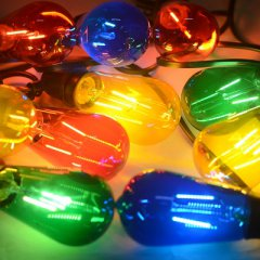 LED Party Lichterkette bunt