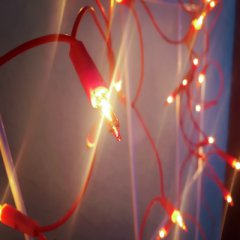 Light chain with ten LEDs