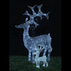 Christman light made of acryl