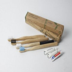 Toothbrush made of bamboo
