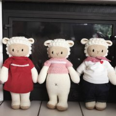 Handcrafted cuddly toys