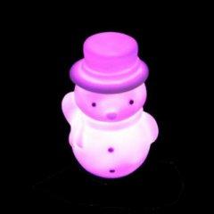 LED Beleuchtung Schneemann