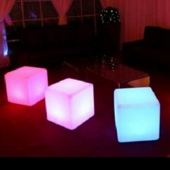LED Beleuchtung Würfel