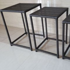 Tisch Set Polyrattan