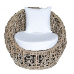 "Armchair ""Monza"" made of rattan"